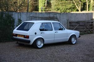 MUST GO!!! 1982 Volkswagen Mk1 Golf with 1.8t 20v conversion. Highly modified!