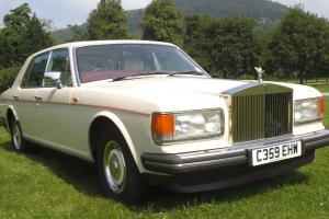 1986 Rolls Royce Silver Spirit, CREAM Photo