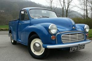 1970 Morris Minor pick up, Fully restored stunning condition inside and out!