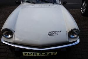 White (cream) Triumph Spitfire 1500 1978 Convertible Classic Car low mileage