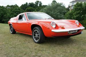 1971 LOTUS EUROPA 1.6 TC - MATCHING NUMBERS - JUST REFURBISHED
