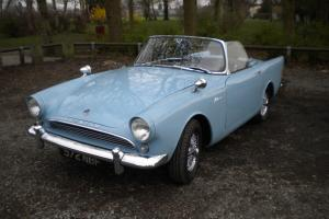 Sunbeam Alpine Series 2 (1963), Holbay Engine, Big Fins