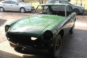 MGB GT V8 (RUBBER BUMPERED ) NEW HERITAGE SHELL