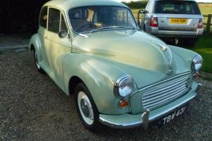 Morris Minor 1000 2 Door 1961. Exceptional Condition Professionally Restored