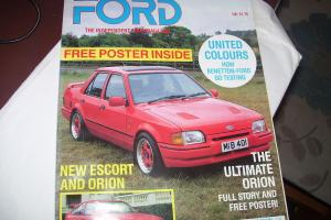 Barn Find ford orion 300 BHP Photo