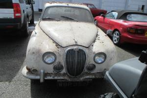 PROPER BARN FIND!!! RARE JAGUAR 3.4 S TYPE AUTO WITH POWER STEERING ALL ORIGINAL