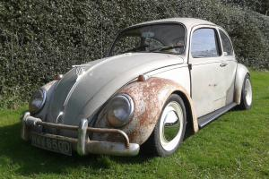 VOLKSWAGEN VW BEETLE 1966 MOT AND TAX
