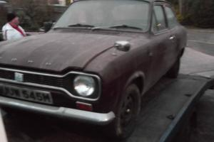 mk1 ford escort spares repairs project 1974