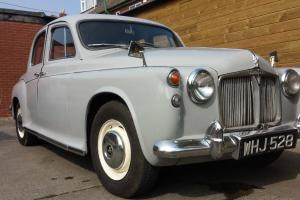 ROVER P80 1960 BRAND NEW LEATHER INTERIOR REALLY NICE CONDITION Photo