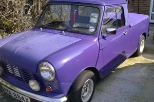 Purple Mini Pickup 1981 Photo