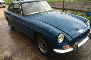 mgb gt classic car un finished project Photo