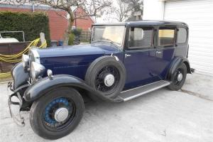"1933 Humber 16/60 Snipe ""BARN FIND"" awesome car, needs only minimal re-commison"