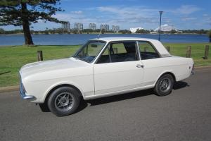 Cortina 2 Door GT 1969 Same Base AS Lotus Cortina Perth WA Location Photo