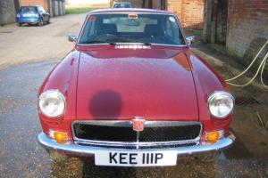 MGB GT Factory V8, 1975 totaly original, two year rebuild, unused since work.