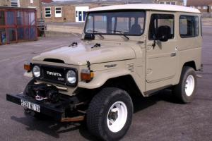 Toyota BJ40. 1979. French Registered LHD. 3.0 Diesel