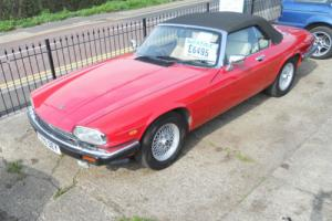 Jaguar XJS Red V12 Convertible