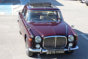 1971 Rover P5 Saloon Webasto soft top