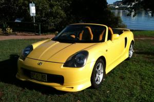 Toyota MR2 Spyder 2001 Convertible Sequential Manual 11 Months Rego