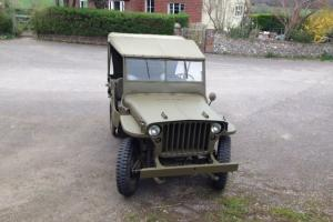 willys Hotchkiss Jeep MB/M201
