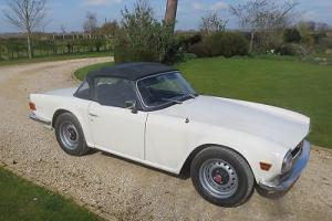 TR6 PI Fuel Injection 150 BHP with overdrive and hardtop