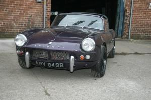 1964 TRIUMPH SPITFIRE MK1 REG NO. ARV 849B FOR LIGHT RESTORATION