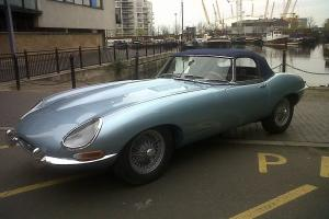 1967 JAGUAR E TYPE SERIES 1 4.2 ROADSTER LHD