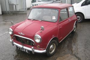 1960 Mk1 Morris Mini Minor Project for Restoration Austin Classic Barn Find