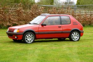 Peugeot 205 1.9 GTI in Cherry Red the best Hot Hatch - Pocket Rocket now classic