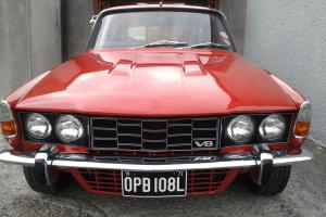 1972 ROVER P6 3500, V8, LT77 5spd manual, many upgrades, STUNNING