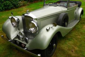 1936 Derby Bentley 4.25 by Vanden Plas