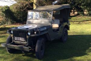 Jeep GPW FORD 1942 WILLYS classic cars Military