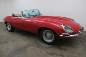 1962 Jaguar XKE Roadster - Very Rare Flat Floor with Louvered Bonnet