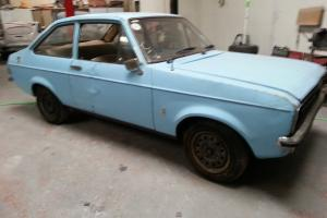 ESCORT MK2 2 DOOR RHD IMPORT - NEVER WELDED