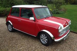 1997 'P' Rover MINI Cooper 1.3i in Flame Red - Restored!
