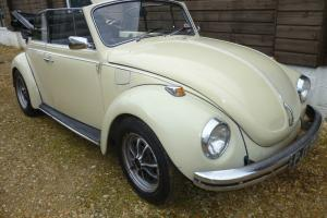 VW Karmann Beetle Convertible - LHD - Tax Exempt - Mot - Lots of History -