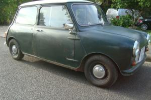 """1961 MINI MK1 PROJECT """"LUVVLY JUBBLY"""" (ORIGINALLY TUNED AT DOWNTON ENGINEERING)"""