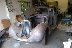 Talbot sunbeam 1947 classic car project