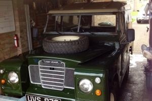 Land Rover Series 2 2.25 diesel rebuilt on galvanised chassis Mot + tax exempt