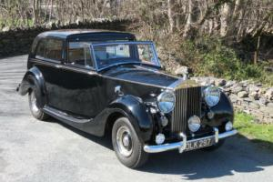 1954 Rolls-Royce Silver Wraith Sedanca de Ville WVH95 Photo