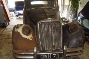 "1950 Jaguar mk5 3.5 litre, ""BARN FIND"" needs full restoration, reg DWH 711"