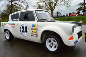 Historic Retro Ford Anglia 105E Race Rally Sprint Hill climb car VIDEO TOUR