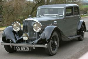 1934 Derby Bentley 3 1/2 litre Aluminium Park Ward Photo