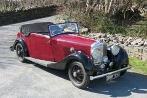 1934 Bentley 3 1/2 Ltr 3pos Drophead Coupe B70DG Photo