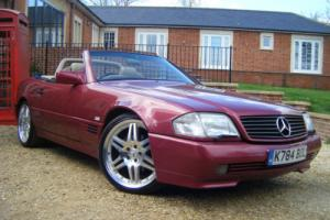 93 K MERCEDES -BENZ SL 500 AUTO LOVELY OLD CAR 100000 MILES