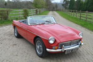 1969 MGC Roadster LHD Photo