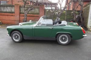 MG MIDGET. MK3. 1970. Tax Exempt. Chrome Bumpers. 1275cc engine.