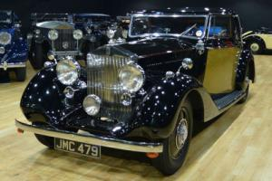 1938 Rolls Royce 25/30 Brougham 2 door Coupe. Photo
