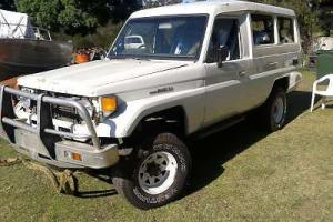 Toyota Landcruiser FJ75 not Land Rover Photo