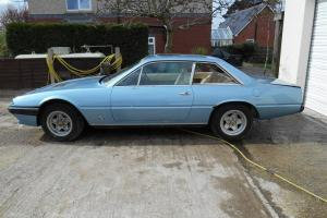 "Ferrari 400 GT V12 ""BARN FIND"" stored since 1988, good project, low reserve"