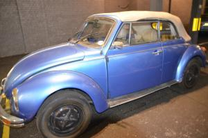 VW Beetle 1303 LS Karmann Convertible